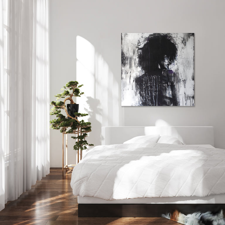 Shadow Girl by Addison Jones (Canvas Wall Art)