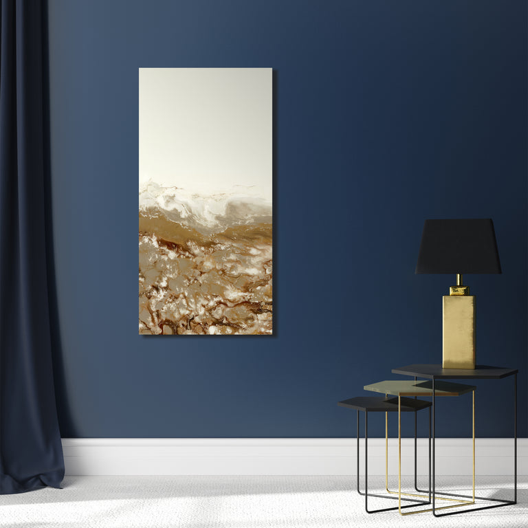 Golden Panels I by Blakely Bering | stretched canvas wall art