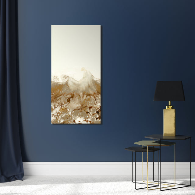 Golden Panels II by Blakely Bering | stretched canvas wall art