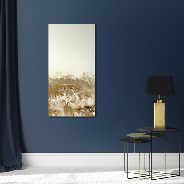 Golden Panels III by Blakely Bering | stretched canvas wall art