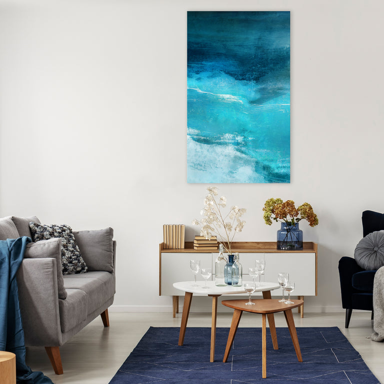 Indigo Sky II by Barclay Butera (Canvas Wall Art)