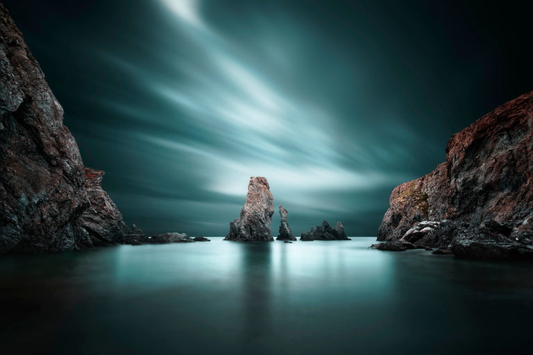 The Needles by David Keochkerian | stretched canvas wall art
