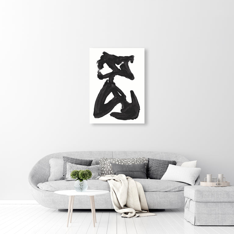 dance when you're broken open by FORM Design Studio | stretched canvas wall art