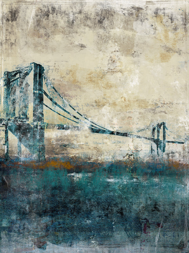 Bridging the Gap II by Austin Beiv | stretched canvas wall art