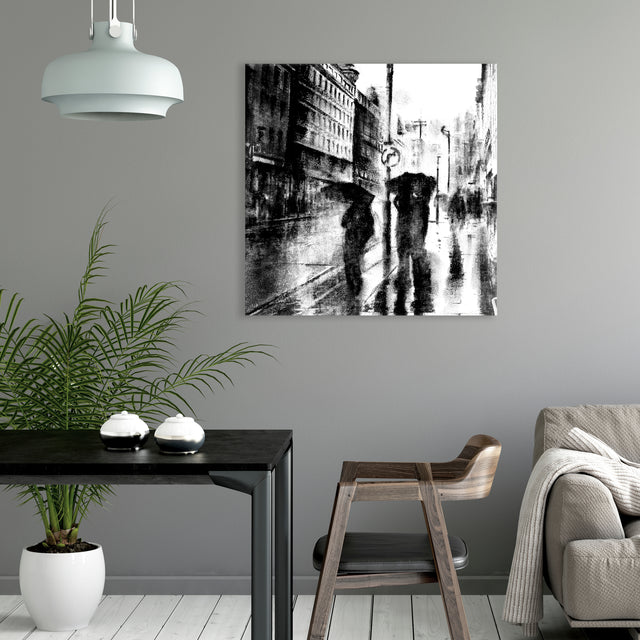 Quiet City III by Peyton Gray | stretched canvas wall art