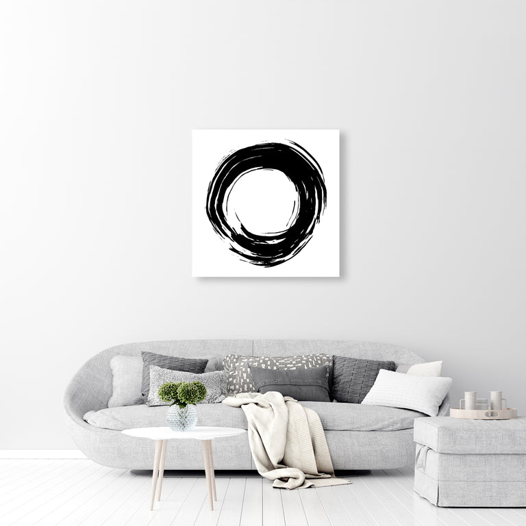 Ex's & Oh's II by David Brown | stretched canvas wall art