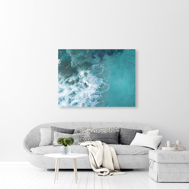 Aerial Surf VI by Daniel Barajas | stretched canvas wall art
