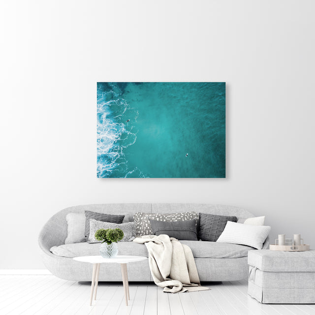 Aerial Surfers VI by Daniel Barajas | stretched canvas wall art