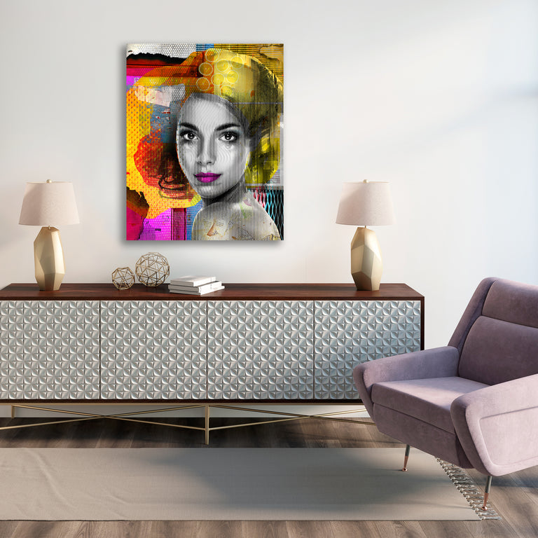 Her I by Elena Carlie | stretched canvas wall art