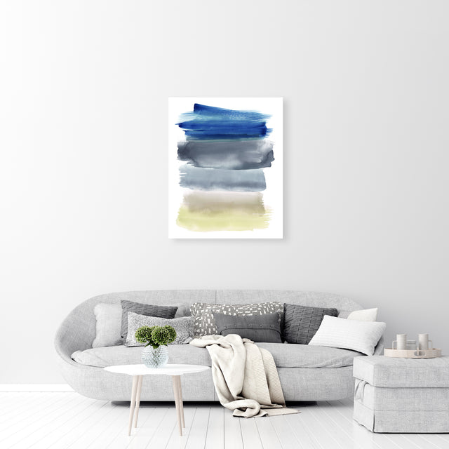 Color Strokes III by Emma McCartney | stretched canvas wall art