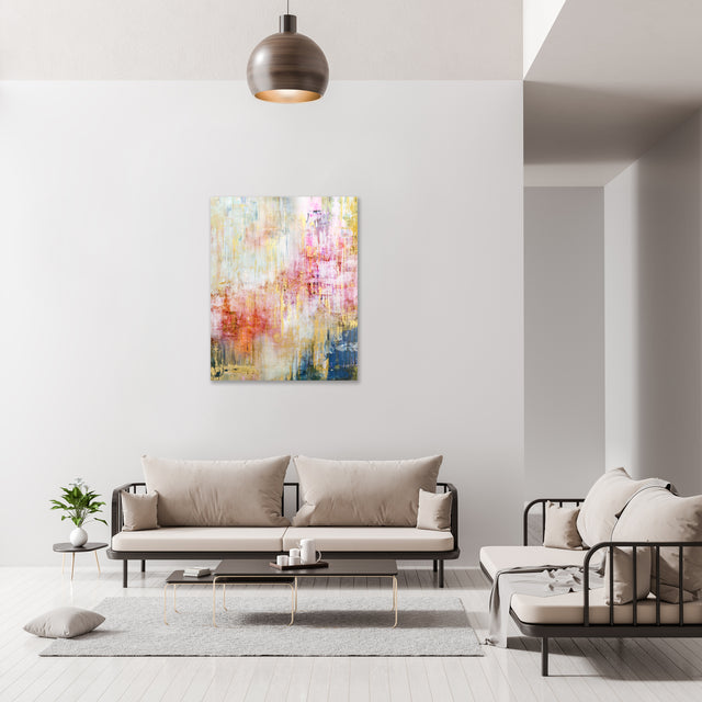 Passing Fancy by Emma McCartney | stretched canvas wall art