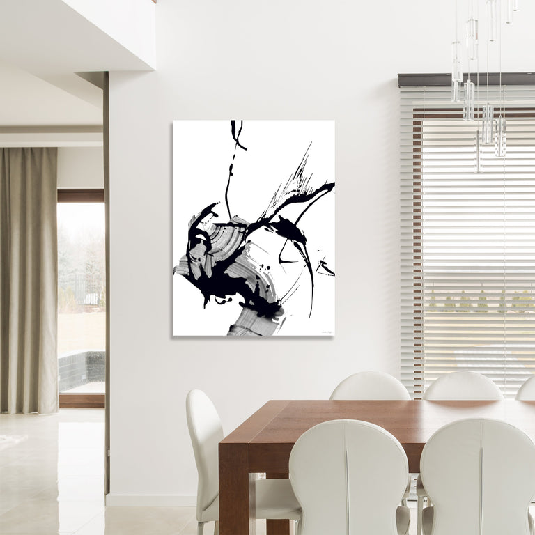 Black Glass IV by Giselle Kelly (Canvas Wall Art)