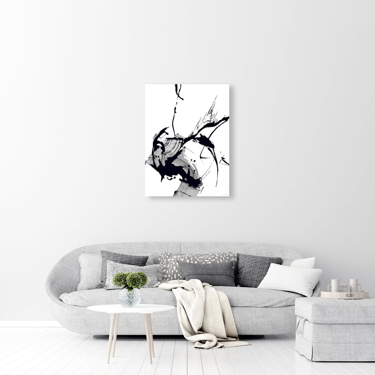 Black Glass IV by Giselle Kelly | stretched canvas wall art