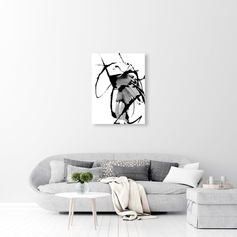 Black Glass V by Giselle Kelly | stretched canvas wall art
