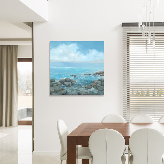 Cerulean Waters by Mark Sargent | stretched canvas wall art