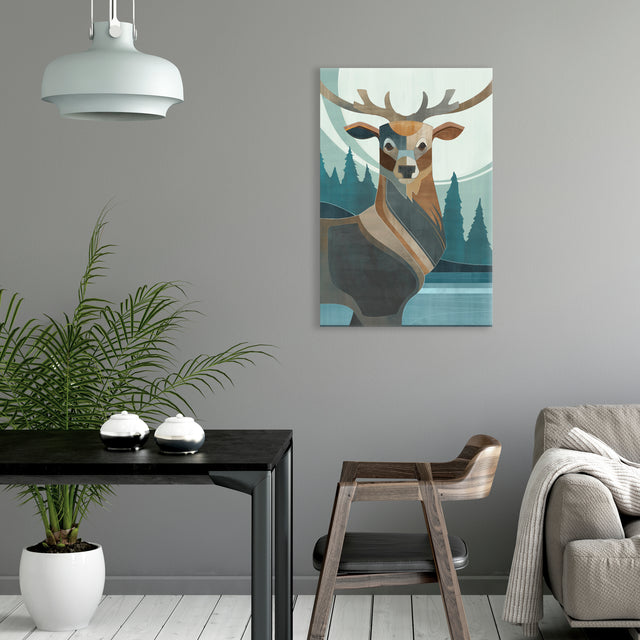 Northern Nature II by Richard Ryder | stretched canvas wall art