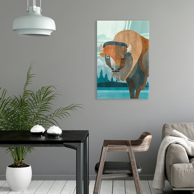 Northern Nature IV by Richard Ryder | stretched canvas wall art
