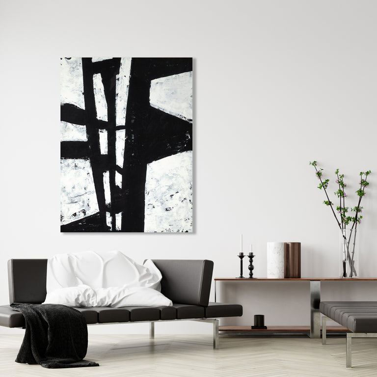 Folded In I by Sara Brown | stretched canvas wall art