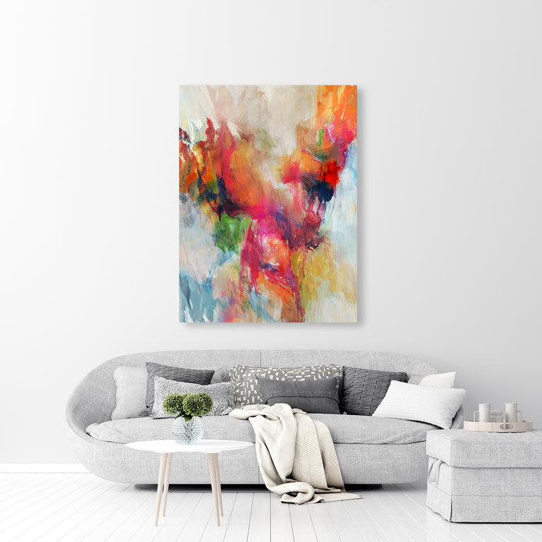 Restless All Day by Sonia Noir | stretched canvas wall art