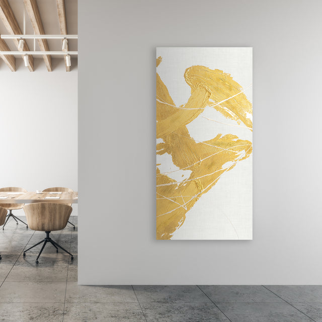 Golden Whirlwind III by Beverly Fuller | stretched canvas wall art