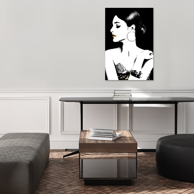Back to Black VI by Kelli Ellis | stretched canvas wall art