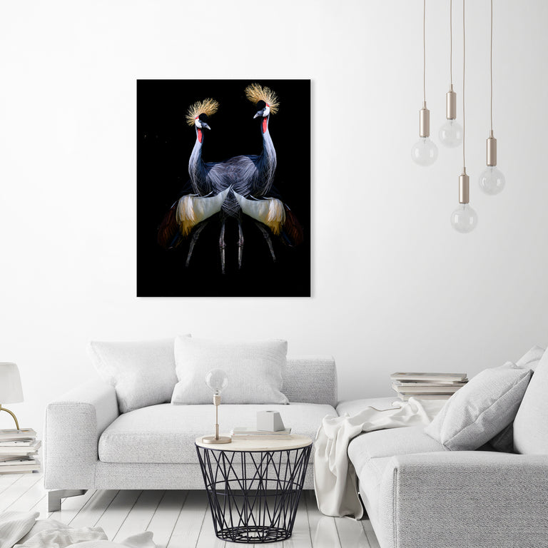 Double Trouble by Mitchell Bloch | stretched canvas wall art