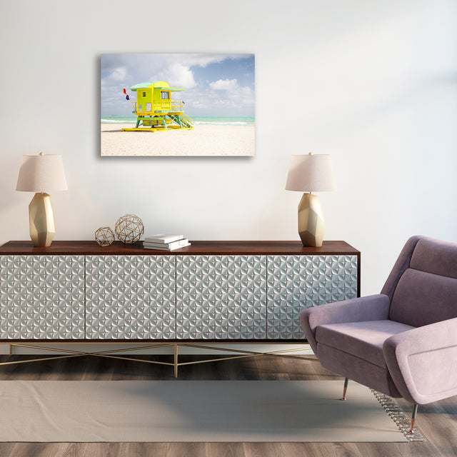 Lifeguard Stand I by Adam Mowery | stretched canvas wall art