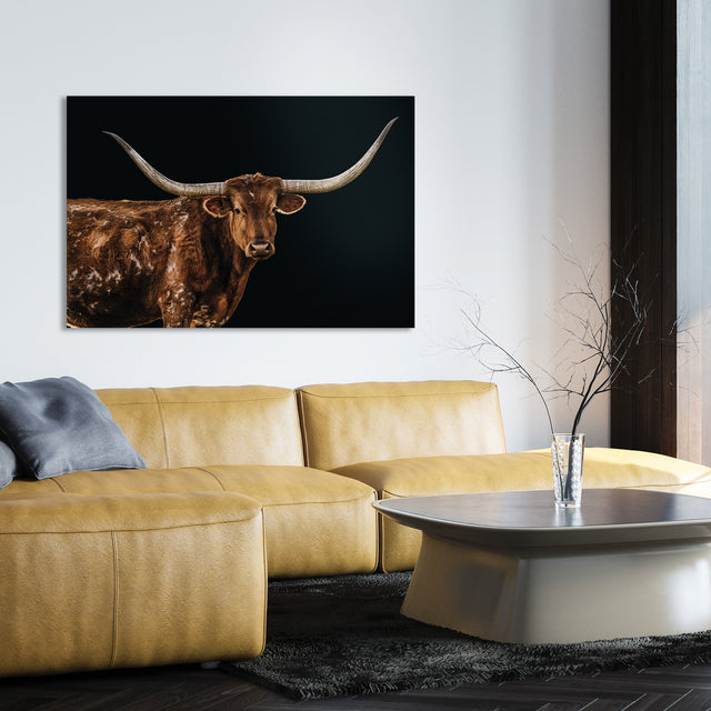 Bigger in Texas by Adam Mowery | stretched canvas wall art
