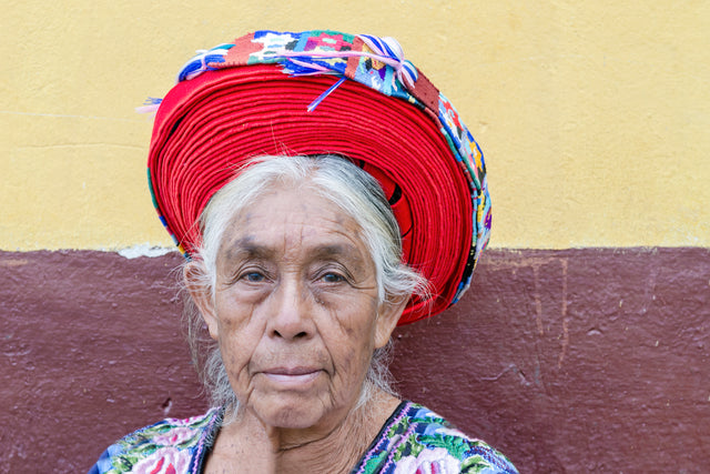 Guatemalan Woman I by Richard Silver | stretched canvas wall art