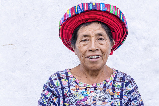 Guatemalan Woman II by Richard Silver | stretched canvas wall art