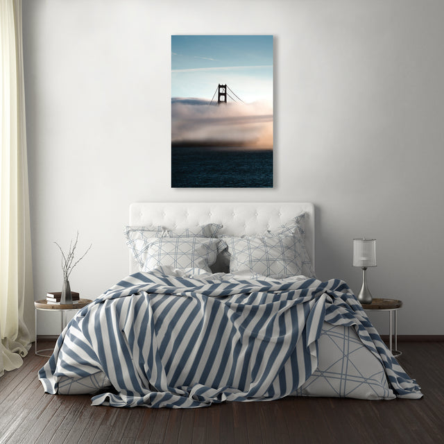 Exiting The Bay by Ryan Walsh | stretched canvas wall art