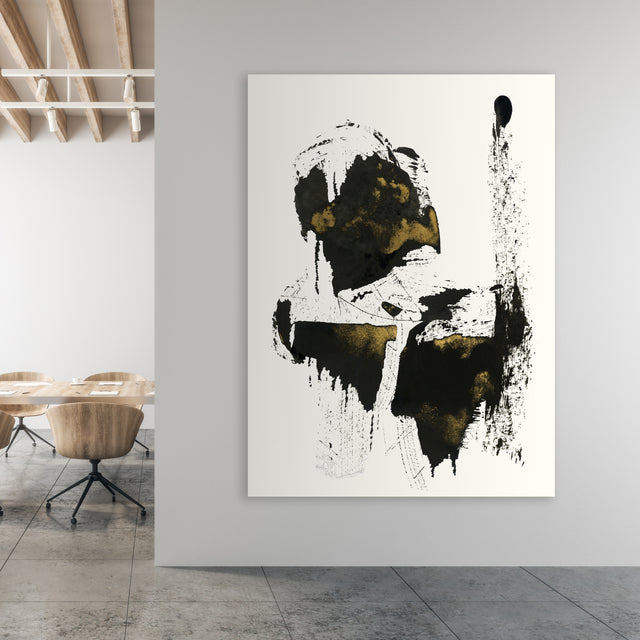 can you see them? IV by FORM Design Studio | stretched canvas wall art