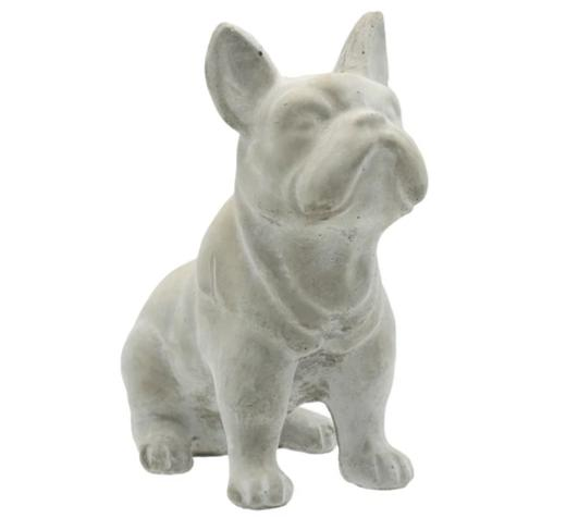 FRENCH BULLDOG, CEMENT 7""