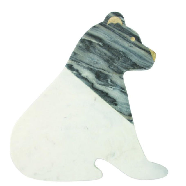MARBLE BEAR SERVING BOARD