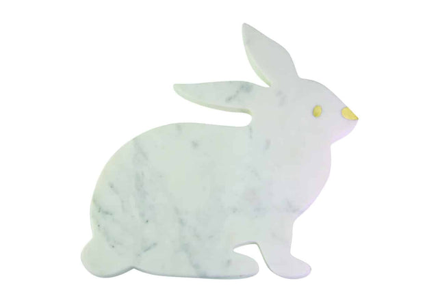 MARBLE RABBIT SERVING BOARD