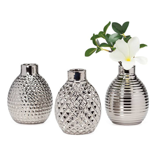MINI PODS CERAMIC VASES (SET OF 3)