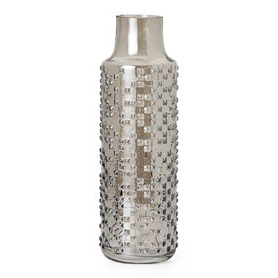 KEDA EMBOSSED GLASS VASES