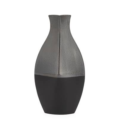 BLACK REACTIVE GLAZE VASES