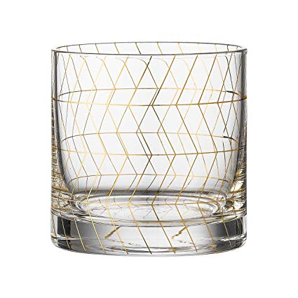 GOLD GEOMETRY GLASSES