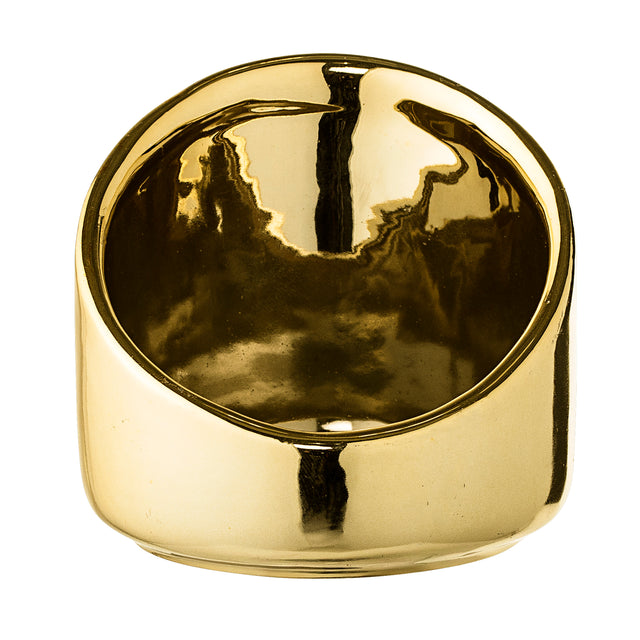 GOLD VOTIVE HOLDER