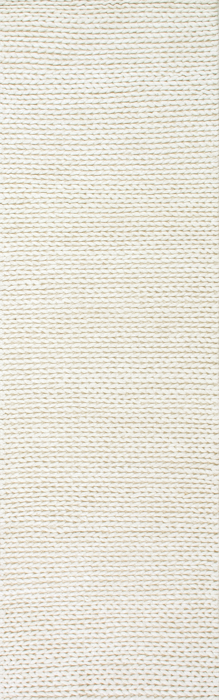 CHUNKY CABLE HANDWOVEN GREY ( 3 ) | RUGS