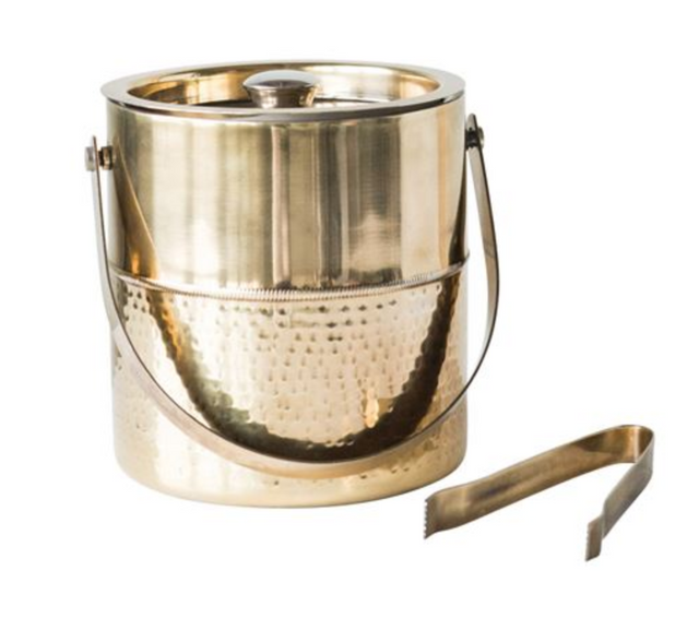 BRASS ICE BUCKET