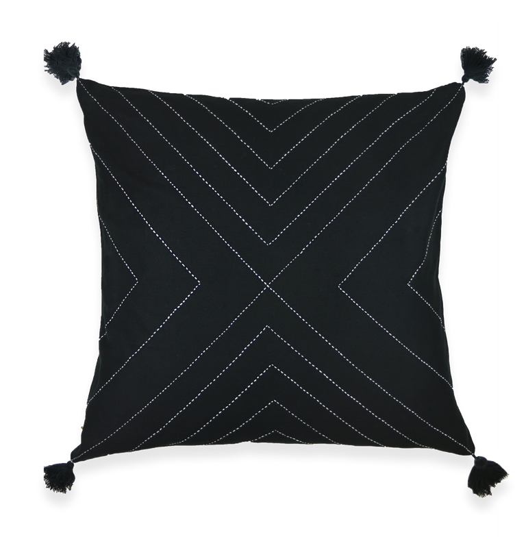 BLACK ARROW THROW PILLOWS