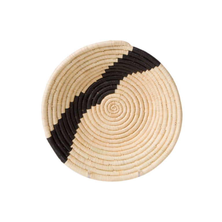 BLACK STRIPED BOWL (UGANDA)