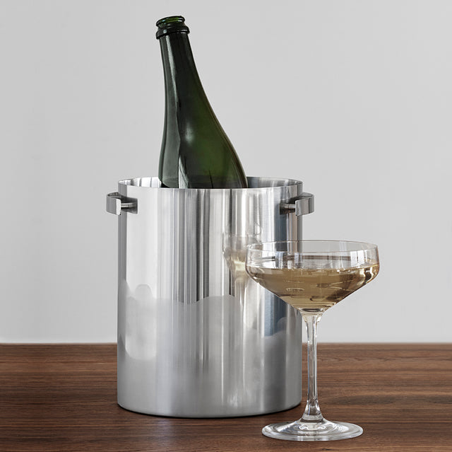 STEEL DANISH CHAMPAGNE COOLER