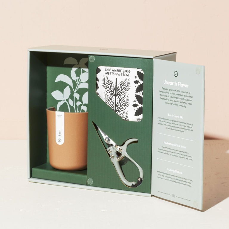 BASIL HARVEST GIFT SET