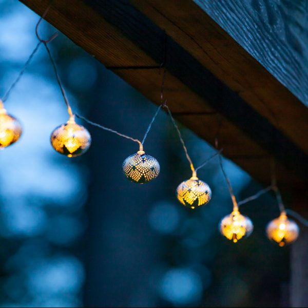 SOLAR MARRAKESH DROPLET STRING LIGHTS