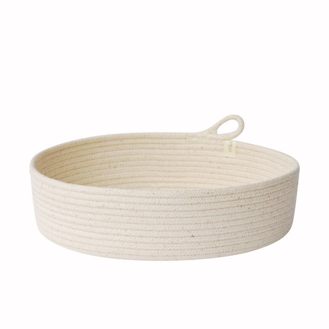 IVORY COTTON TABLE BASKETS (SOUTH AFRICA)