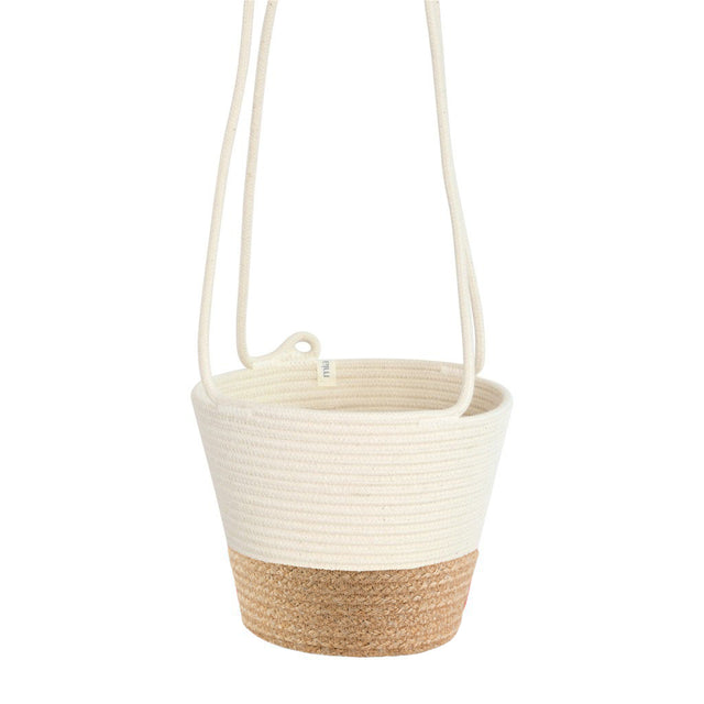 JUTE BLOCK HANGING PLANTER (SOUTH AFRICA)