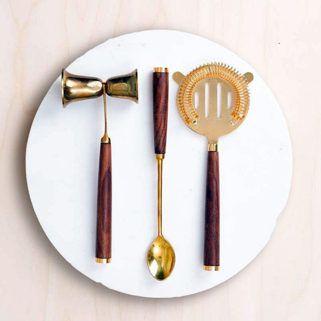 COPPER BAR SET | DINING & ENTERTAINING